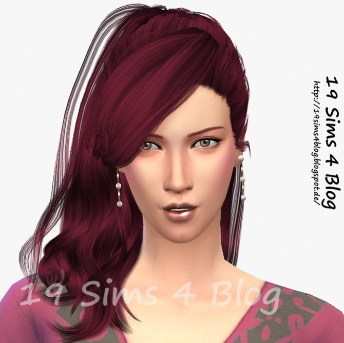 Sims 4 Miriam Richter by Michaela P. at 19 Sims 4 Blog