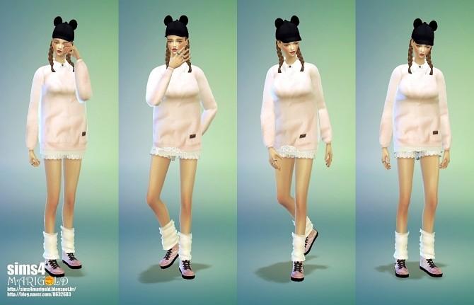 Sims 4 Leg warmers at Marigold