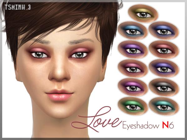 Love Eyeshadow by tsminh 3 at TSR image 11014 Sims 4 Updates