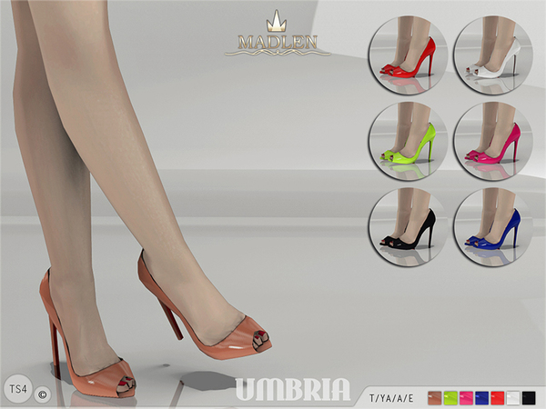 Madlen Umbria Shoes By MJ95 At TSR Sims 4 Updates