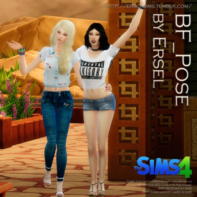 BF pose by Ersel at ErSch Sims image 11101 670x670 Sims 4 Updates