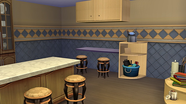 Sims 4 2T4 Cabinet Solutions conversion set by Marco13 at Sims Fans