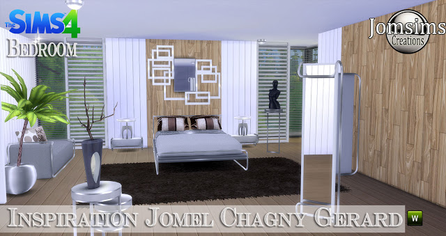 Jomel Chagny Gerard inspired bedroom at Jomsims Creations image 11126 Sims 4 Updates