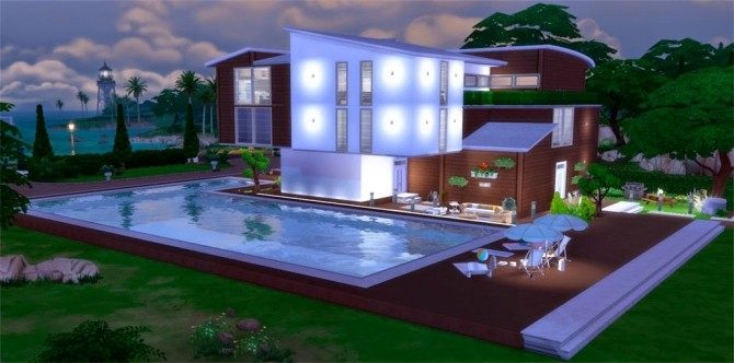 Sims 4 Claudia´s House at pqSims4