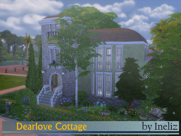 Dearlove Cottage by Ineliz at TSR image 11310 Sims 4 Updates