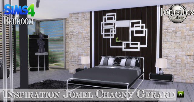 Jomel Chagny Gerard inspired bedroom at Jomsims Creations image 11322 Sims 4 Updates