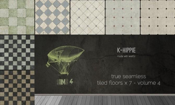 7 Tiled Floors true seamless volume 4 at K hippie image 1135 670x402 Sims 4 Updates