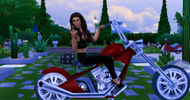 Motorcycle Poses by Dreacia at My Fabulous Sims » Sims 4 Updates
