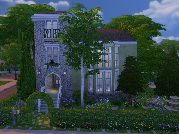 Dearlove Cottage by Ineliz at TSR image 11410 Sims 4 Updates