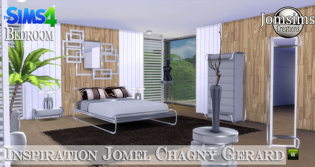 Jomel Chagny Gerard inspired bedroom at Jomsims Creations image 11421 Sims 4 Updates