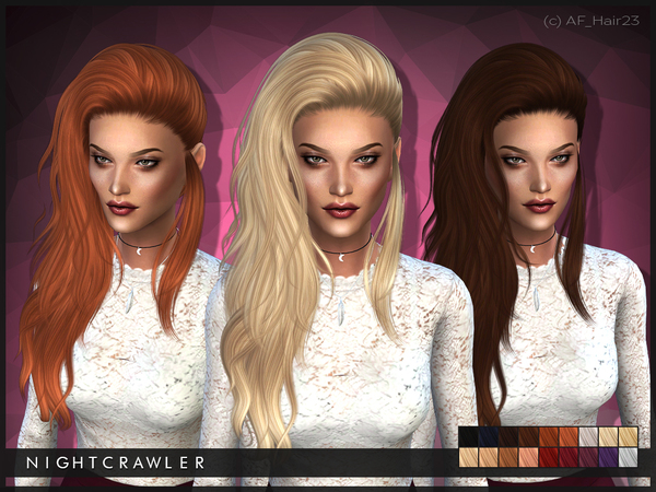 AF Hair 23 by Nightcrawler at TSR image 1150 Sims 4 Updates