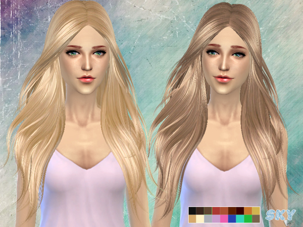 Hair 194 by Skysims at TSR image 11511 Sims 4 Updates
