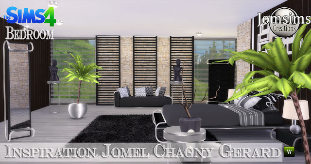 Jomel Chagny Gerard inspired bedroom at Jomsims Creations image 11520 Sims 4 Updates