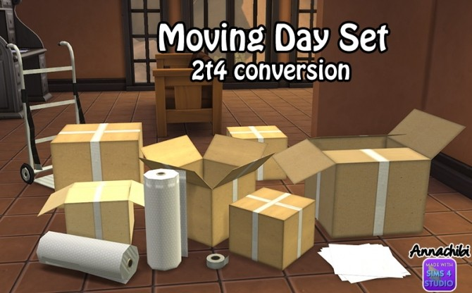 Moving Day Set By Mustluvcatz Converted At Annachibi S