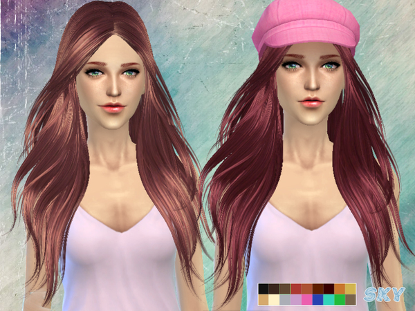 Hair 194 by Skysims at TSR image 11611 Sims 4 Updates