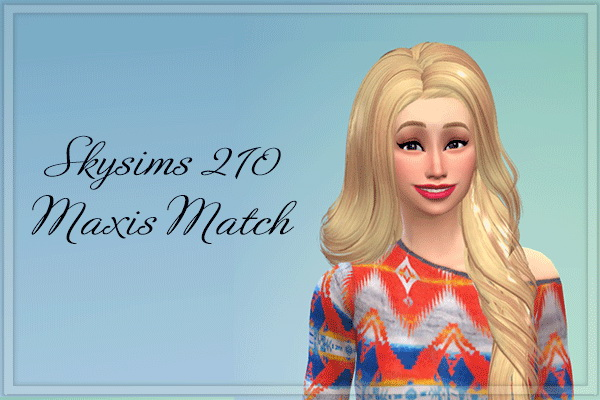 Maxis Match Hair Retextures At Amarathinee 187 Sims 4 Updates