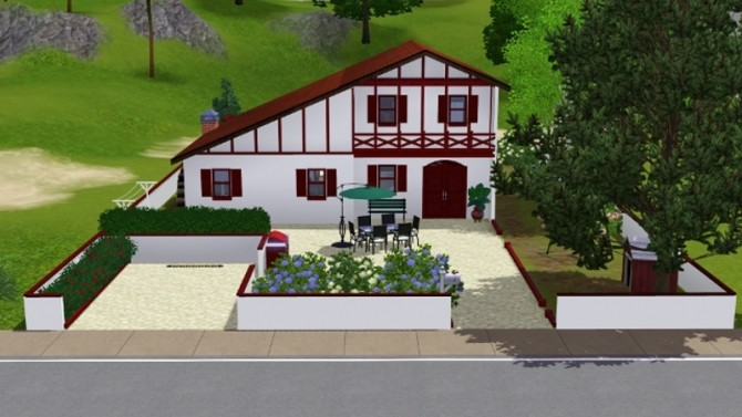 BASQUE house by pyrenea at Sims Artists image 11718 670x377 Sims 4 Updates