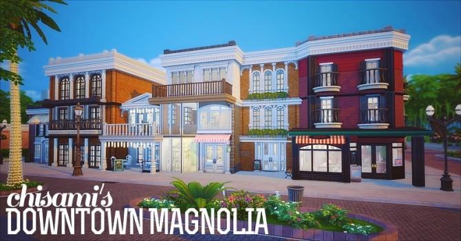 Magnolia Downtown at Chisami image 11719 670x350 Sims 4 Updates