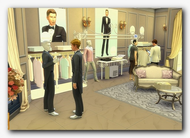 Sims 4 Wedding shopping at Architectural tricks from Dalila