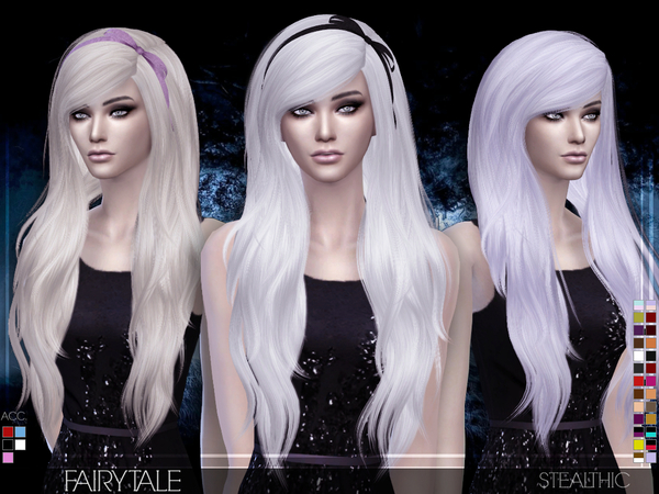 Fairytale Female Hair by Stealthic at TSR image 1180 Sims 4 Updates