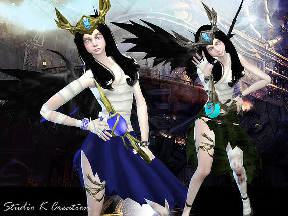 Sims 4 Age of darkness acc. at Studio K Creation