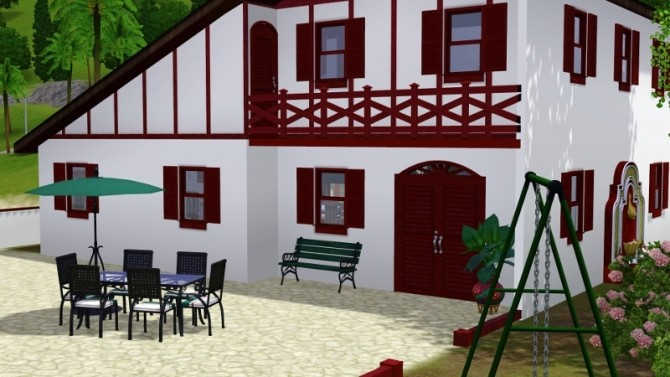 BASQUE house by pyrenea at Sims Artists image 11817 670x377 Sims 4 Updates