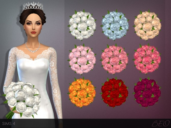 WEDDING BOUQUET by BEO at BEO Creations image 1182 670x503 Sims 4 Updates