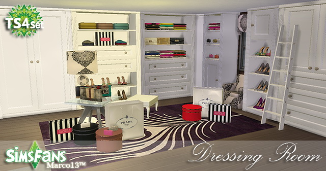 Dressing Room Conversion By Marco13 At Sims Fans 187 Sims 4