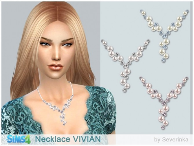 VIVIAN necklace at Sims by Severinka image 11914 670x505 Sims 4 Updates