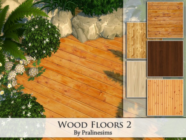 Wood Floors 2 by Pralinesims at TSR image 12103 Sims 4 Updates