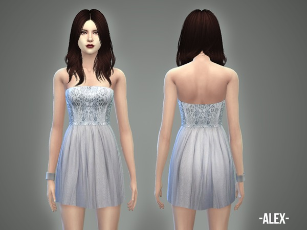 Alex dress by April at TSR image 12410 Sims 4 Updates