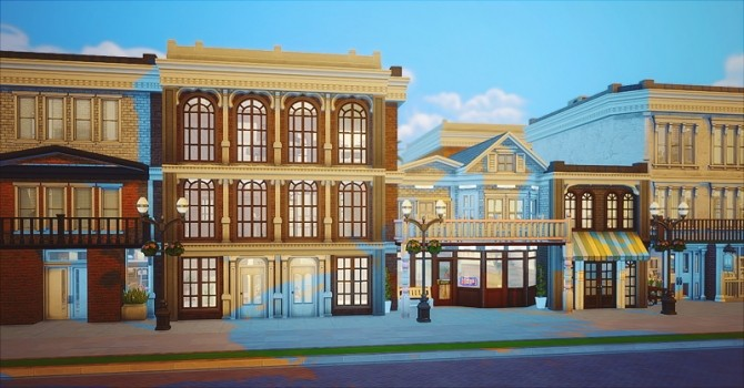 Magnolia Downtown at Chisami image 12419 670x350 Sims 4 Updates