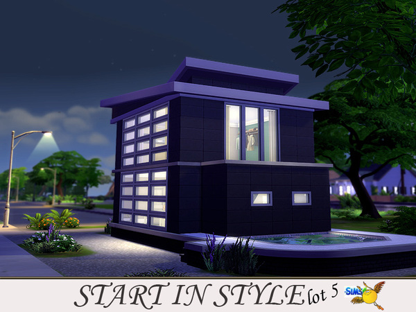 Sims 4 Start in Style lot 5 by Evi at TSR