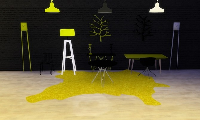 Mellow Yellow objects pack at Meinkatz Creations image 1249 670x402 Sims 4 Updates