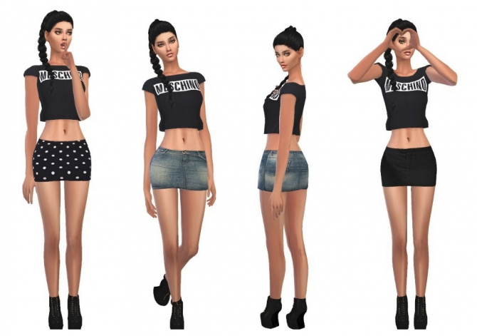 miniskirts at cute sims4 sims 4 updates
