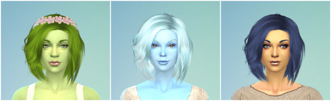 70 Matching Berry Recolors for Women! (Hair/Eyebrows) at The Simsperience image 126 1 670x205 Sims 4 Updates