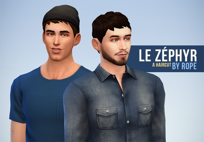 Le Zéphyr haircut at Simsontherope image 1269 670x468 Sims 4 Updates