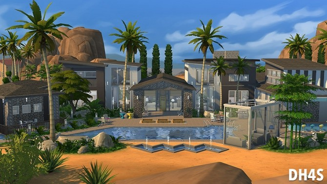 501 Heather Road, Beverly Hills house at DH4S image 127 670x377 Sims 4 Updates
