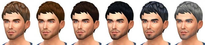 Le Zéphyr haircut at Simsontherope image 12711 670x147 Sims 4 Updates