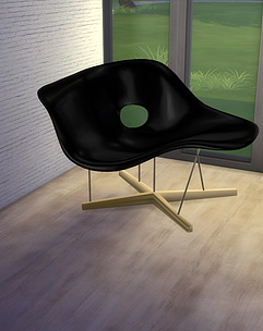 Sims 4 La chaise by Eames at Meinkatz Creations
