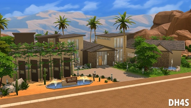 501 Heather Road, Beverly Hills house at DH4S image 128 670x377 Sims 4 Updates