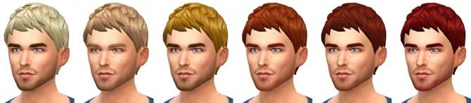 Le Zéphyr haircut at Simsontherope image 1289 670x147 Sims 4 Updates
