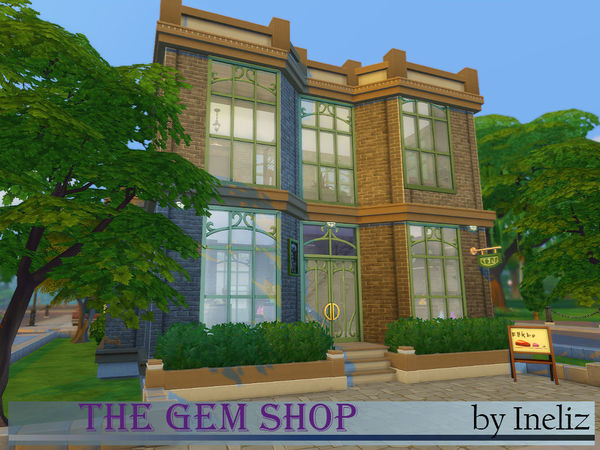 Sims 4 The Gem Store by Ineliz at TSR