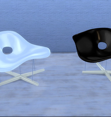 La chaise by Eames at Meinkatz Creations image 1295 Sims 4 Updates