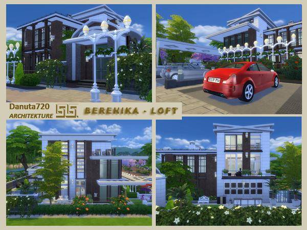 Sims 4 Berenika Loft by Danuta720 at TSR