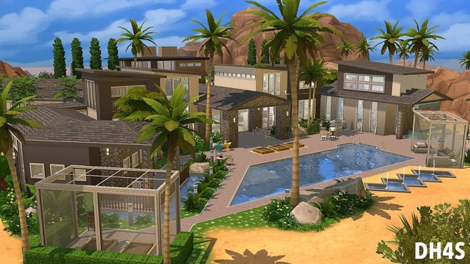 501 Heather Road, Beverly Hills house at DH4S image 130 670x377 Sims 4 Updates