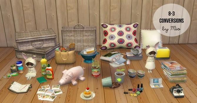 Sims 4 8 3 Studio Conversions TS2 TS4 at MIO