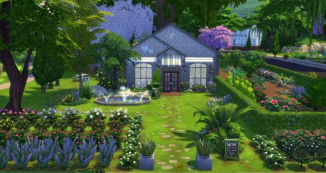 Garden center at studio sims creation sims 4 updates for Indoor gardening sims 4