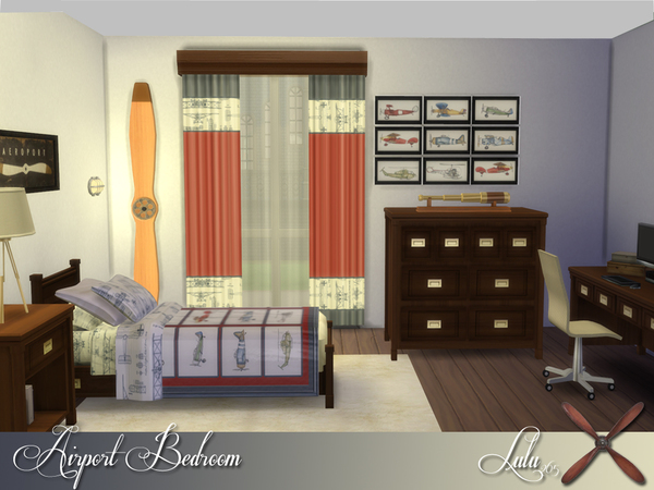 Port Bedroom by Lulu265 at TSR image 13107 Sims 4 Updates
