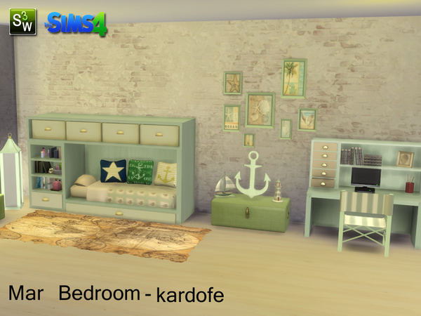 Mar Bedroom by kardofe at TSR image 13108 Sims 4 Updates